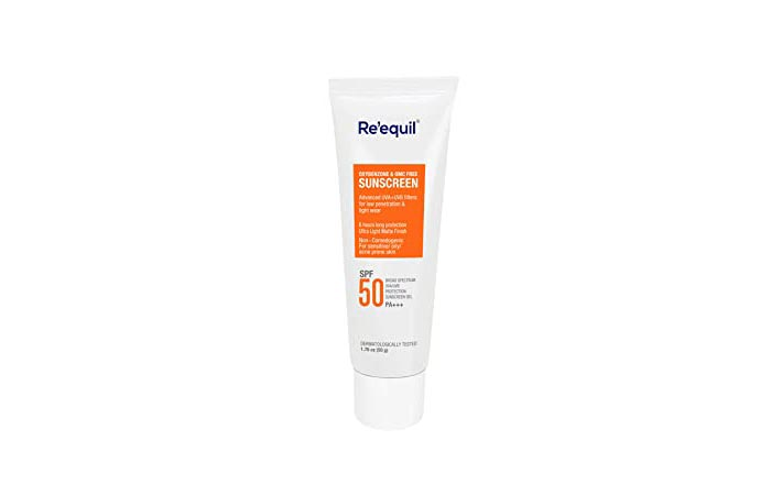 Re'equil Oxybenzone And OMC Free Sunscreen SFP 50