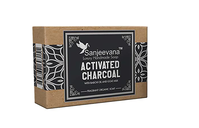 Sanjeevana Luxury Handmade Soap - Activated Charcoal