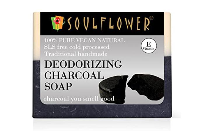 Soulflower Deodorizing Charcoal Soap