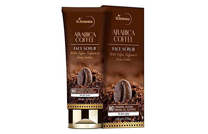 St. Botanica Arabica Coffee Face Scrub