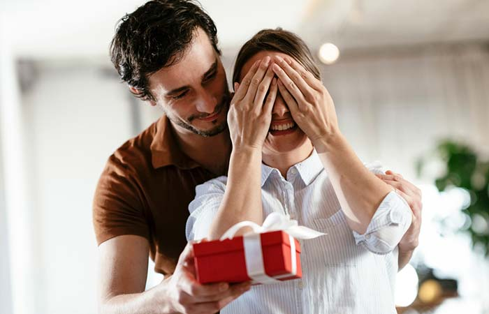 Surprise Each Other With Gifts
