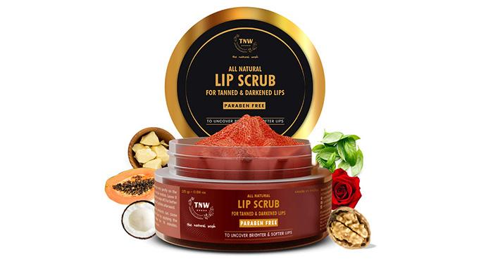 TNW All Natural Lip Lightening Scrub For Tanned & Darkened Lips