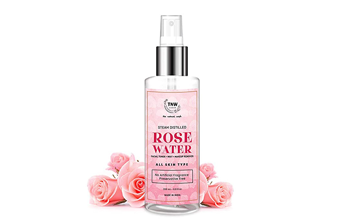 TNW Steam Distilled Rose Water