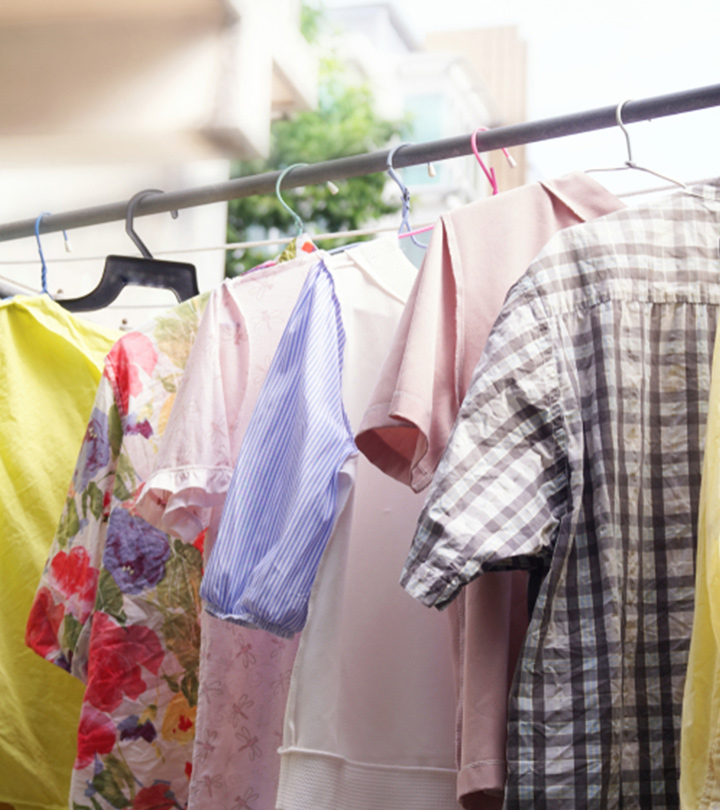 Tired Of Damp And Smelly Clothes During The Monsoons? Here Are 7 Ways To Deal With Them