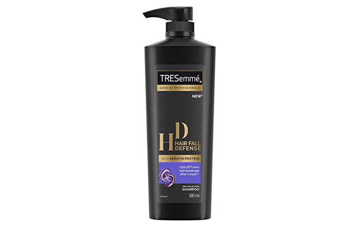 Tresemme New HD Hair Fall Defense With Keratin Protein Pro Collection Shampoo