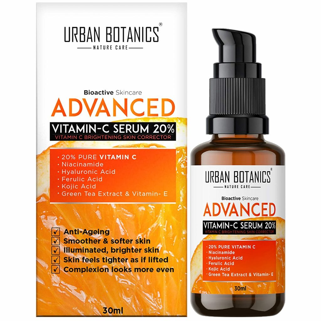 UrbanBotanics Advanced Vitamin-C Face Serum 20%