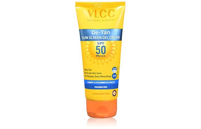 VLCC De-Tan Sunscreen Gel Creme SPF 50 PA+++