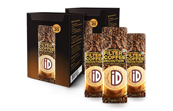 instant coffee pack