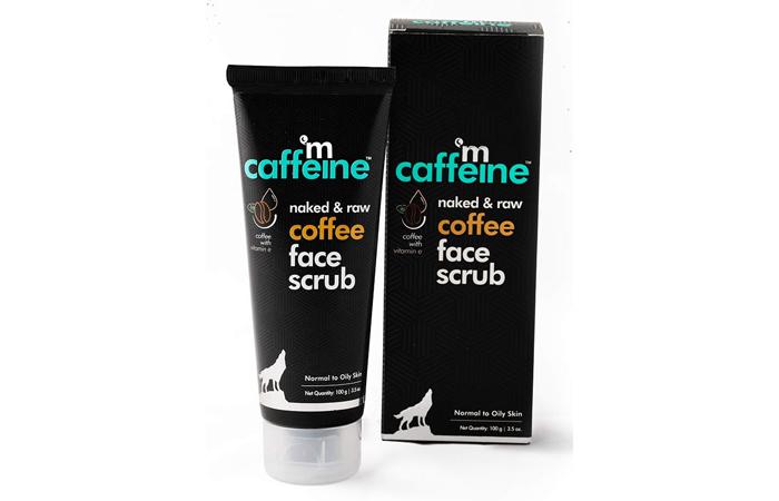mCaffeine Naked & Raw Coffee Face Scrub