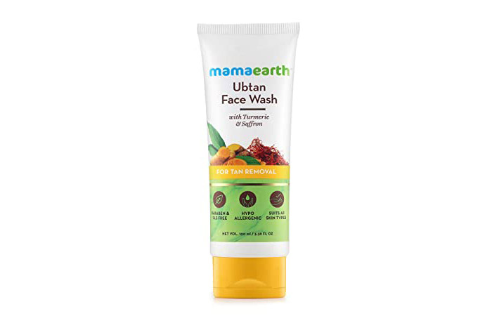 mamaearth Ubtan Face Wash For Tan Removal