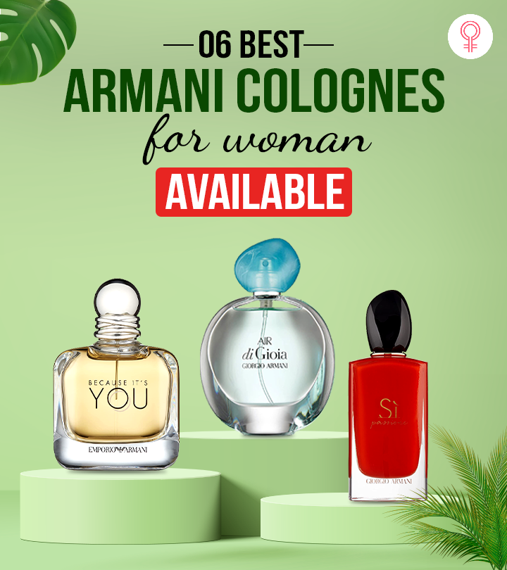 6 Best Armani Colognes For Women Available In 2021