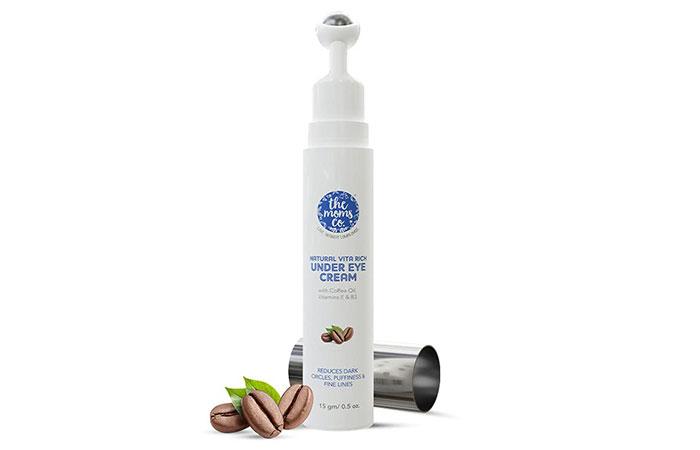 1.The Moms Co. Natural Vita Rich Under Eye Cream