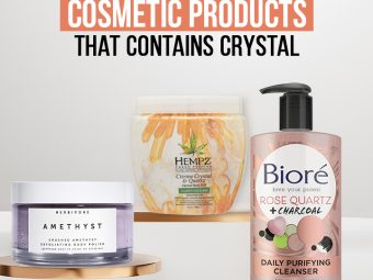 10 Best Cosmetic Products That Contains Crystal