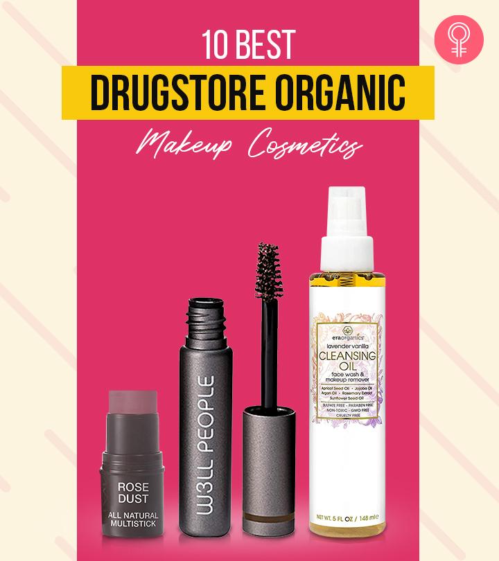 10 Best Drugstore Organic Makeup Cosmetics Of 2021
