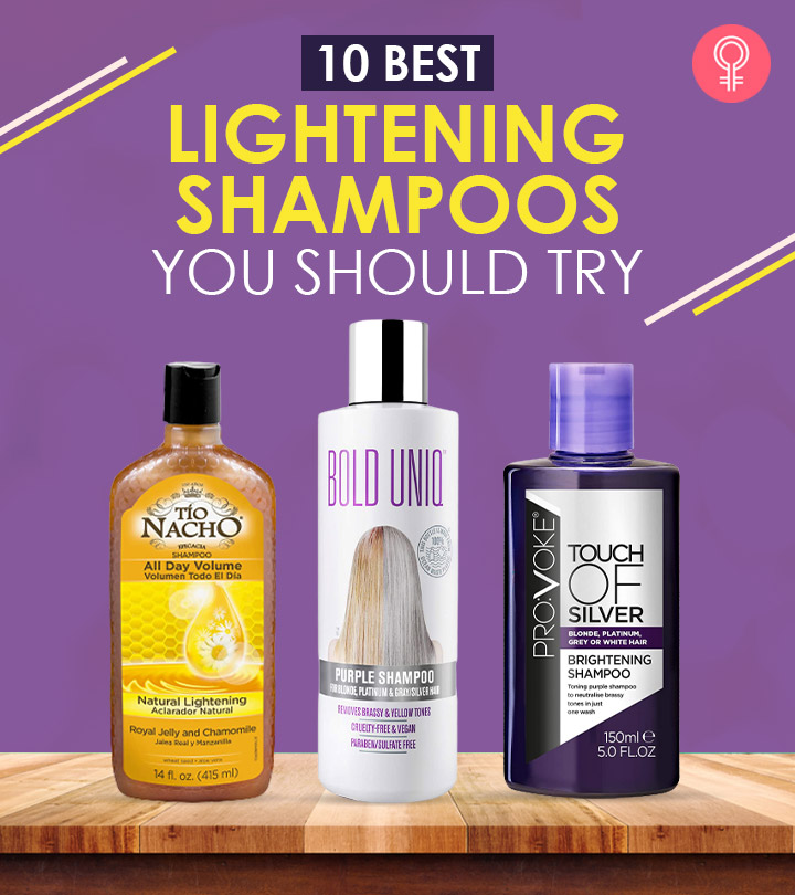 10 Best Lightening Shampoos Of 2021 You Should Try