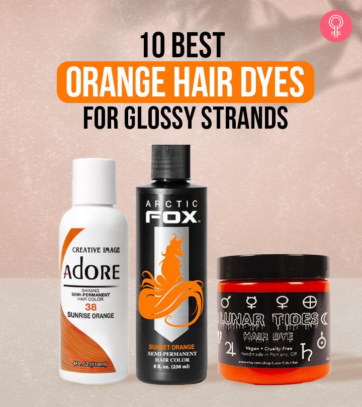 10 Best Orange Hair Dyes – 2021 Update