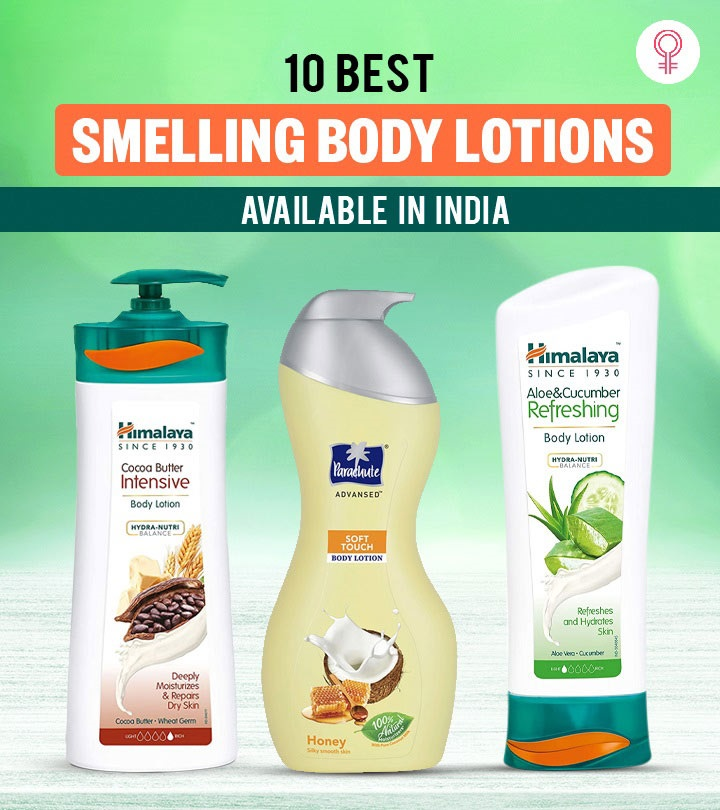 10 Best Smelling Body Lotions Available In India