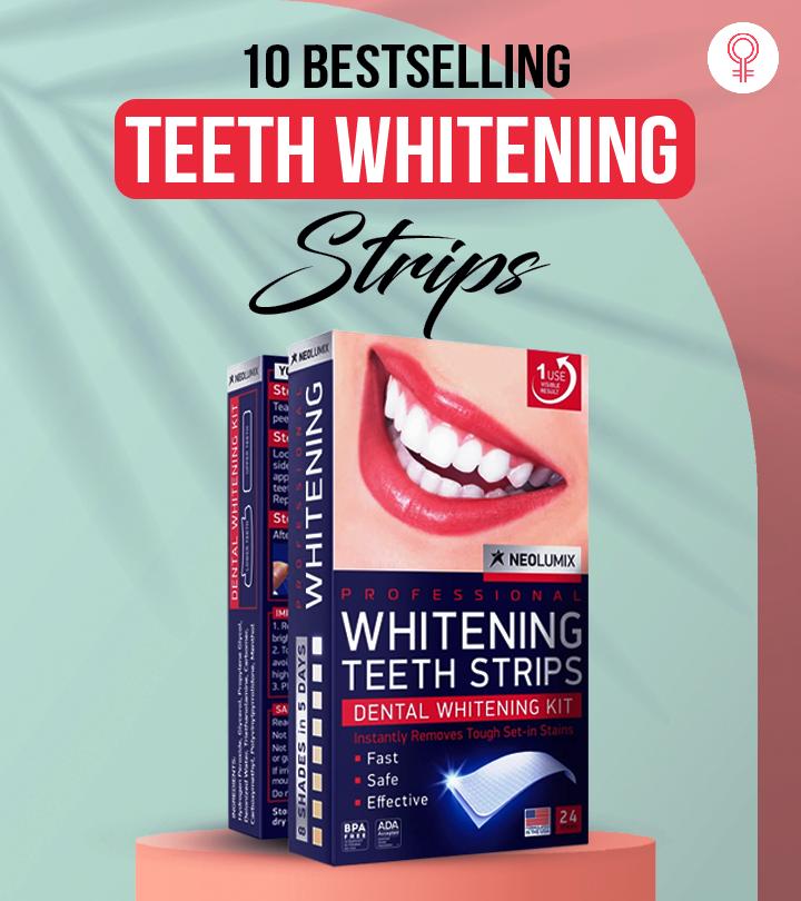 10 Best Selling Teeth Whitening Strips Of 2021