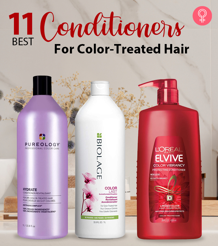 11 Best Conditioners For Color-Treated Hair – 2021
