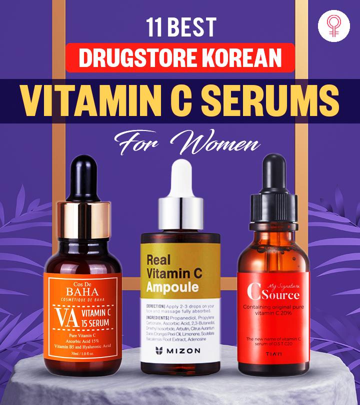 11 Best Drugstore Korean Vitamin C Serums For Women