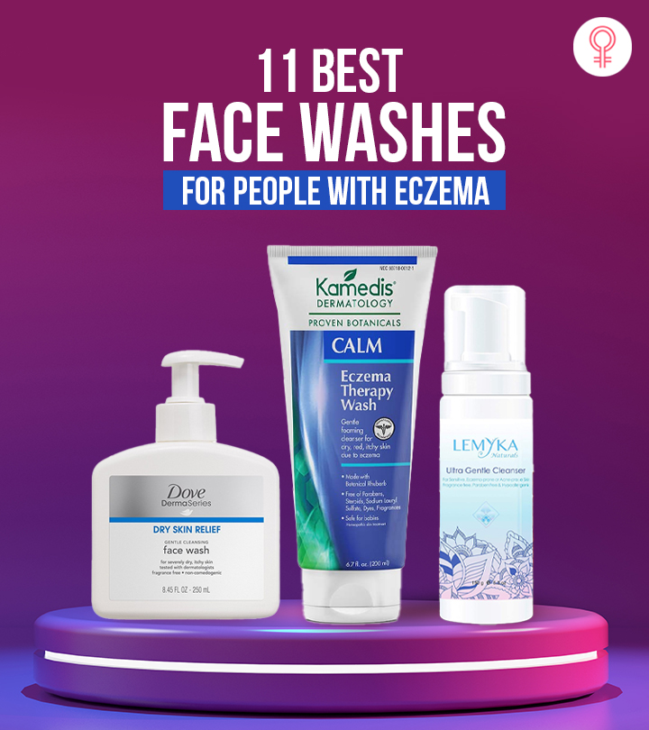 11 Best Face Washes For People With Eczema
