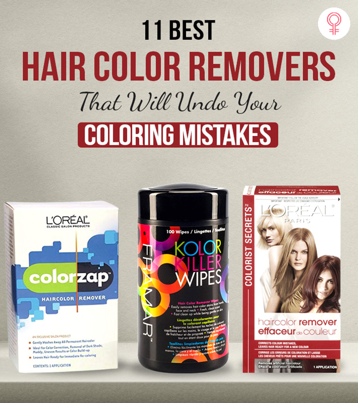 11 Best Hair Color Removers That Will Undo Your Coloring Mistakes