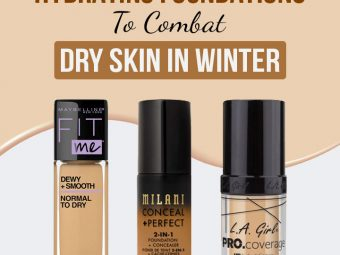 11 Best Hydrating Foundations To Combat Dry Skin In Winter