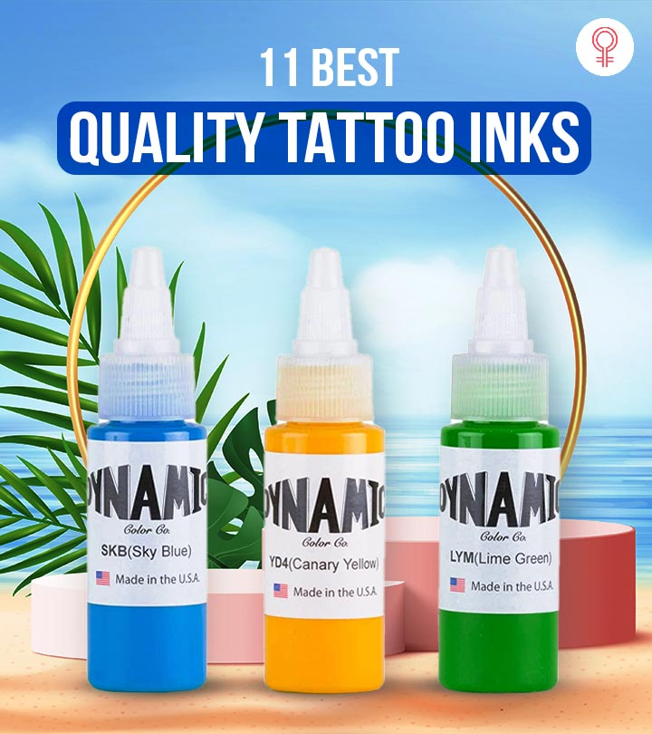 11 Best Quality Tattoo Inks In 2021