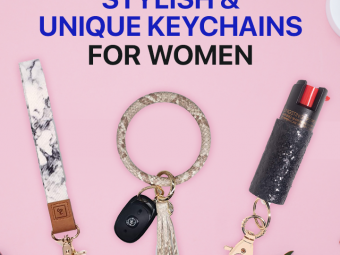 11 Best Stylish And Unique Keychains For Women Of 2021