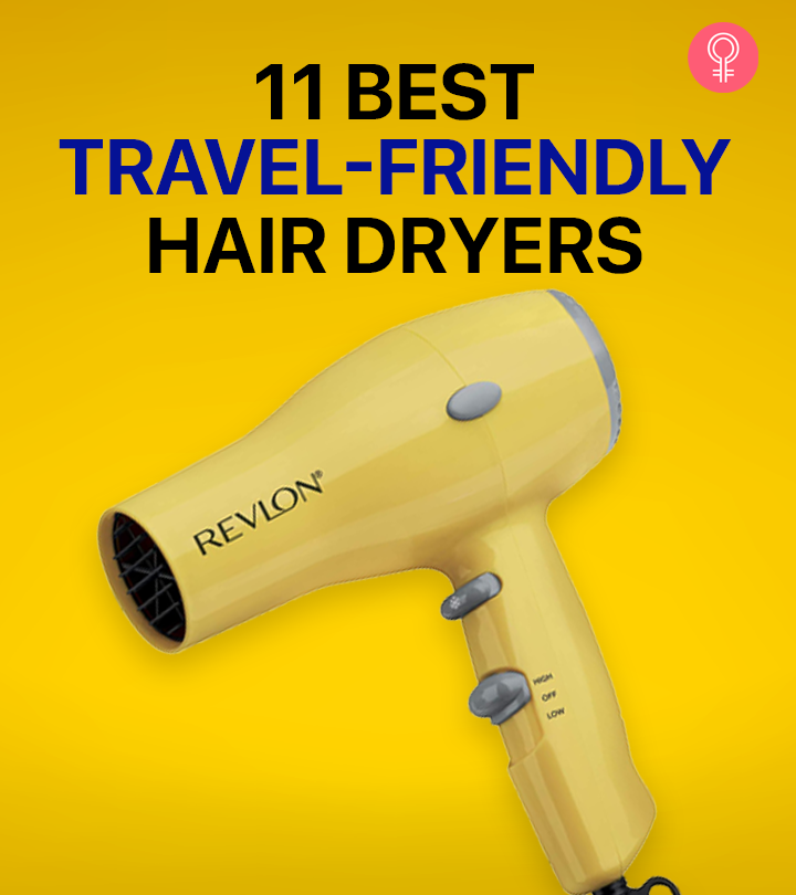 11 Best Compact & Travel-Friendly Hair Dryers Of 2021