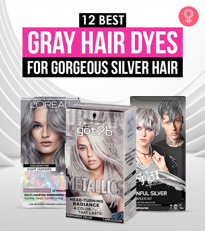 12 Best Gray Hair Dyes For Gorgeous Silver Hair – 2021 Update