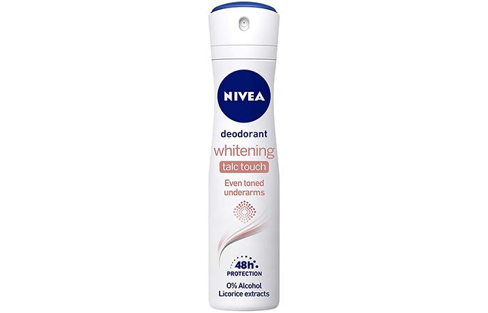 Nivea Deodorant – Whitening Talc Touch
