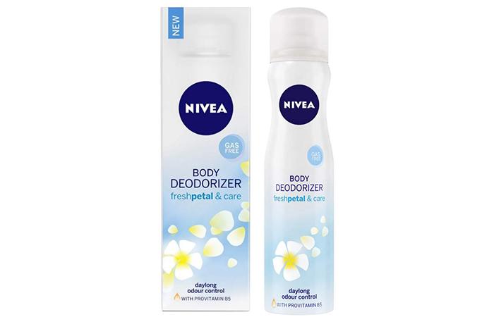 Nivea Body Deodorizer – Fresh Petal & Care