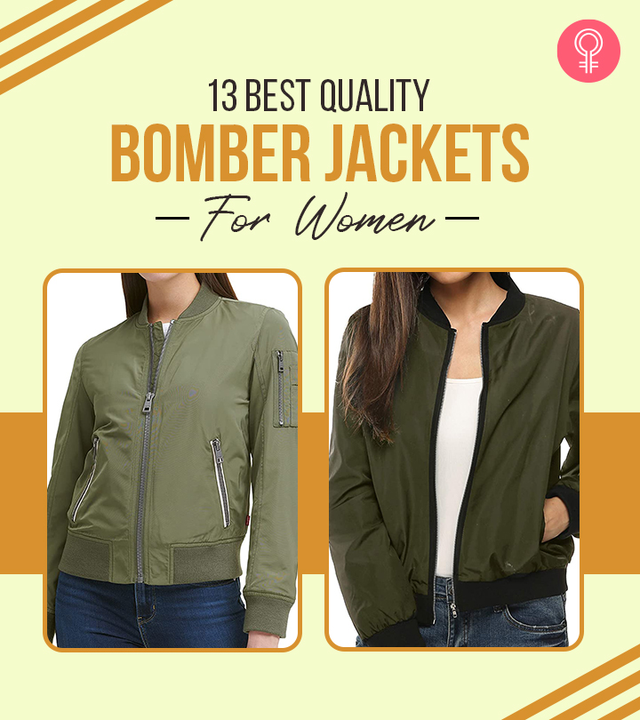 13 Best Quality Bomber Jackets For Women