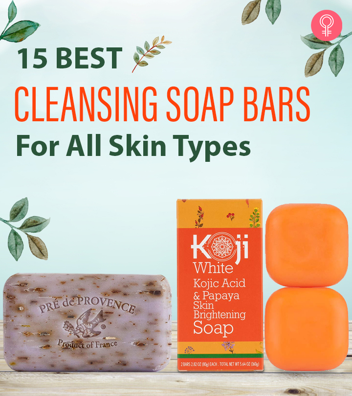 15 Best Cleansing Soap Bars For All Skin Types – 2021 Update