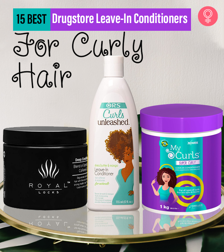 15 Best Drugstore Leave-In Conditioners For Curly Hair