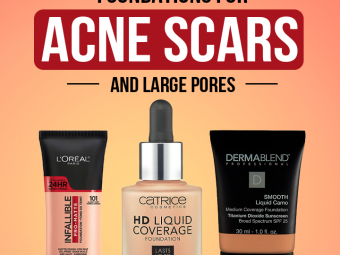 15 Best Foundations For Acne Scars And Large Pores – 2021