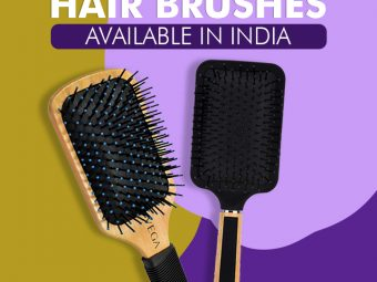 15 Best Hair Brushes Available In India