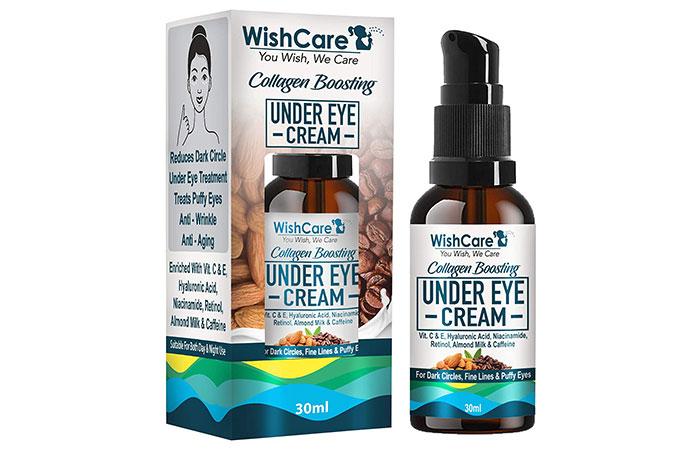 16. WishCare Collagen Boosting Under Eye Cream