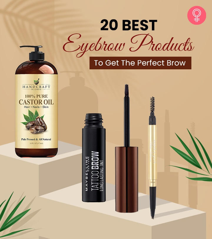 20 Best Eyebrow Products To Get The Perfect Brow