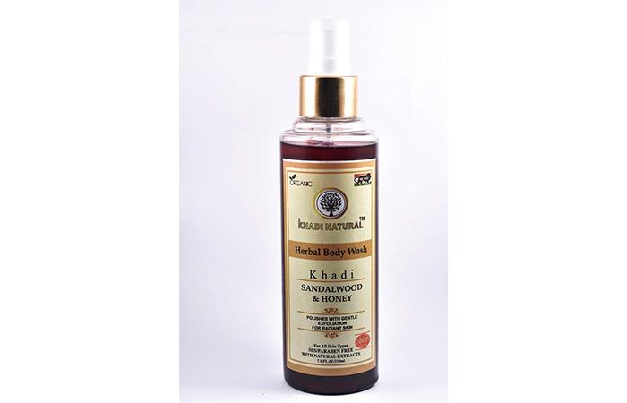 Khadi Natural Sandal And Honey Herbal Body Wash
