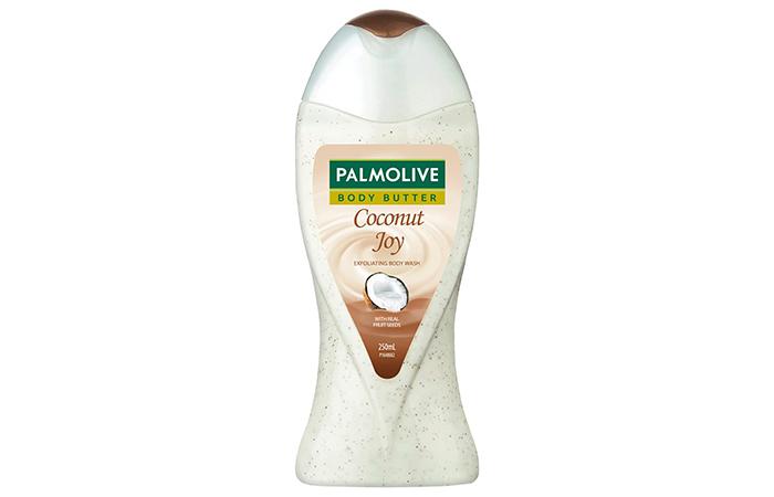 Palmolive Body Butter Coconut Joy Exfoliating Body Wash