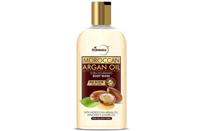 St.Botanica Moroccan Argan Oil Ultra Nourishing Body Wash