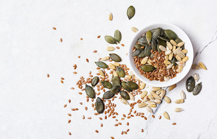 Toasted Spicy Mixed Seeds