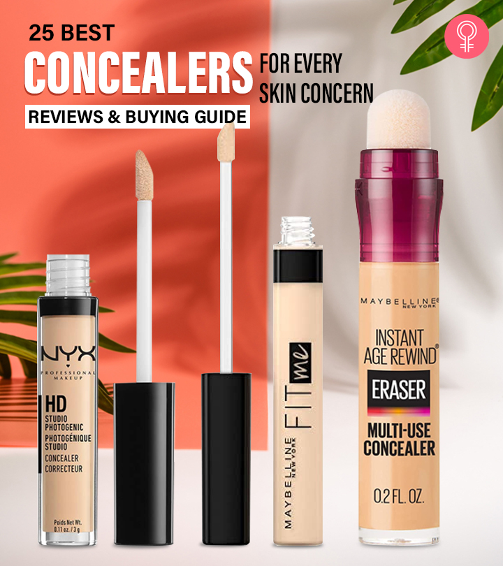 25 Best Concealers For Every Skin Concern – Reviews And Buying Guide