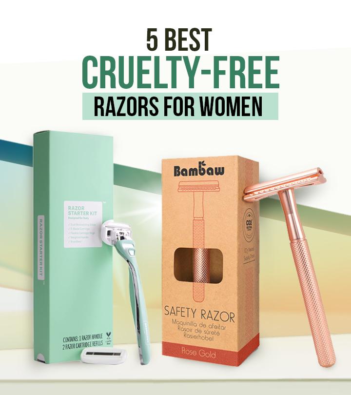 5 Best Cruelty-Free Razors For Women – 2021