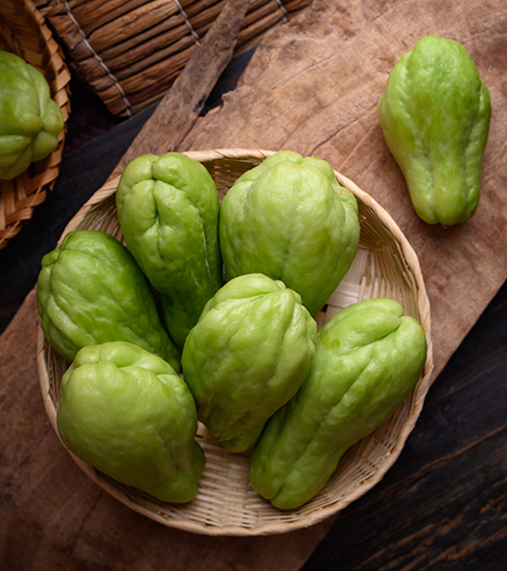 5 Health Benefits Of Chayote Squash, Nutrition, And How To Cook