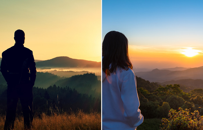 Watch Sunrise Or Sunset Together