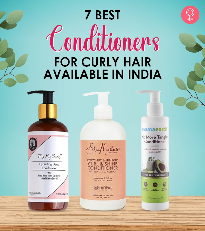 7 Best Conditioners For Curly Hair Available In India