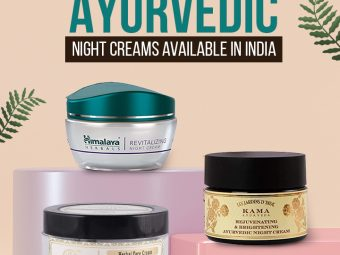 8 Best Ayurvedic Night Creams Available In India